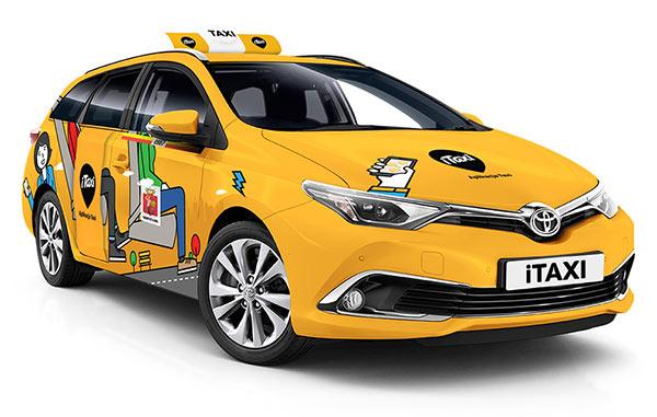 Taksówka Toyota
